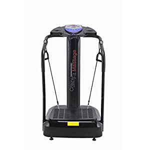 41s XeUyQnL. SS300  - Bluefin Fitness Vibration Plate | Pro Model | Upgraded Design With Silent Motors | Comes with Built in Speakers
