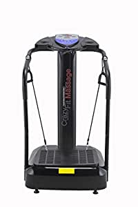 Bluefin Fitness Upgraded 2017 Vibration Plate with Built-in Speakers