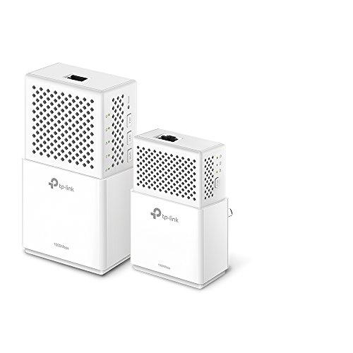 TP-Link TL-WPA7510 KIT - Extensor de red por línea (PLC, 1000Mbps Powerline,...