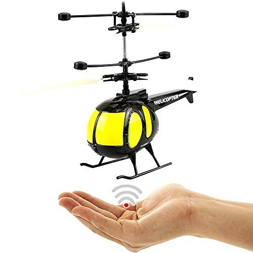 Volando helicóptero Hughes 500Negro novedad 2018.Fácil