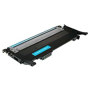 Toner kompatibel für Samsung Xpress C410W CLP-365/SEE CLP-365 360 Series CLX 3300 Series 3305 FN FW Xpress C 460 FW Series - CLT-C406S - Cyan 1000 Seiten