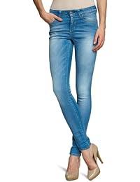 Object Damen Jeans 23013288 STAR PLUS MW Skinny / Slim Fit (Röhre) Hoher Bund