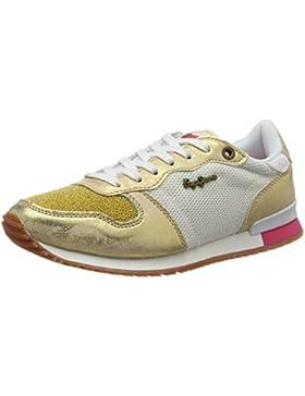 Pepe Jeans Damen Gable New Caviar Sneakers