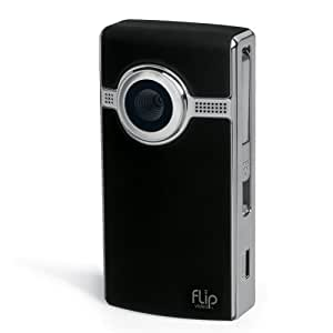 Flip Video Ultra High Definition Camcorder With 8GB Memory - Black
