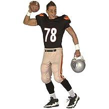 Widman - Disfraz de futbol americano para hombre, talla S (44501)