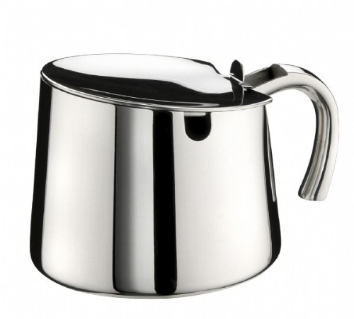 (0.40 litre) - Braisogona A020302 Bella Stainless Steel Sugar Bowl, 0.40 L, Silver -
