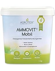 AMMOVIT® Mobil 1 kg Eimer - ökologischer Sanitärzusatz zur Geruchs- und Fäkalienbehandlung - biologisch abbaubar