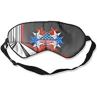 Art American Flag 99% Eyeshade Blinders Sleeping Eye Patch Eye Mask Blindfold For Travel Insomnia Meditation preisvergleich bei billige-tabletten.eu
