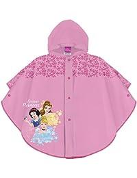 PERLETTI Mantellina Pioggia Principesse Disney - Poncho Impermeabile Bambina  Principesse - Mantella Antipioggia con Cappuccio e 7eeab00c6c92