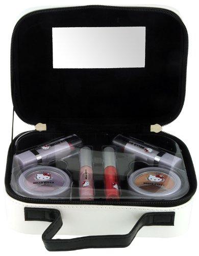 Hello Kitty Sanrio Make-up-Koffer, 8-teilig - Hello Kitty Kosmetik-set