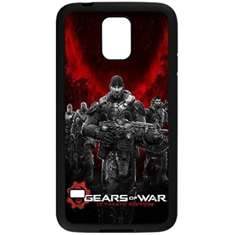 Samsung Galaxy S5 I9600 Phone Case Black Gears Of War AC8463163 - Final Drive Gear