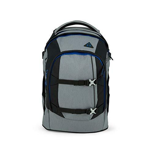 satch Pack ergonomischer Schulrucksack für Mädchen und Jungen - Grey Ray