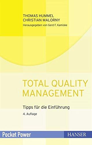 Total Quality Management: Tipps für die Einführung (Pocket Power)