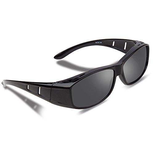 71032ab976 Ewin O01 Polarizado sobre los vidrios, gafas de sol de Fitover de la  prescripción Estilos