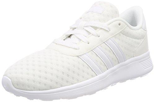 adidas Unisex-Erwachsene Lite Racer Sneaker - Weiß (Ftwbla / Ftwbla / Ftwbla 000) , 42 EU