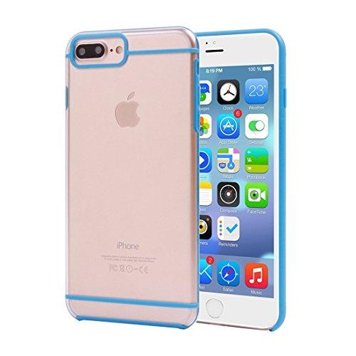 BING IPhone 7 Plus 2 In 1 Transparente TPU Schutzhulle BING Color