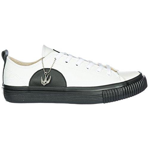 MCQ Alexander McQueen Chaussures Baskets Sneakers Homme en Cuir Plimsoll Low Top