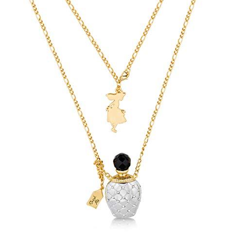 Couture Kingdom Disney Alice im Wunderland Wonderland Potion Halskette Fantasie Damen Anhänger Charme Geschenk