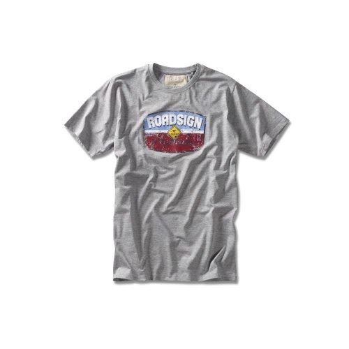 "ROADSIGN australia Logo T-Shirt ""Vintage"" Graumelange"