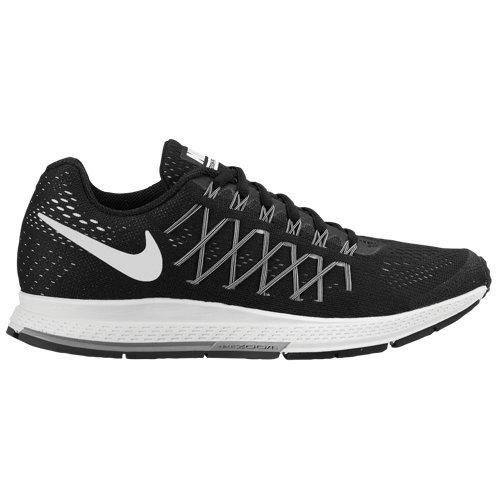 Nike Wmns Air Zoom Pegasus 32, Zapatillas de Running Unisex Adultos, Negro (Black / White-Pure Platinum), 44 1/2 EU