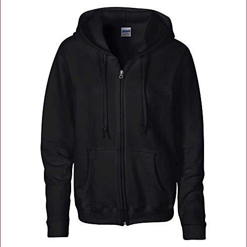 GILDAN - Sweat-shirt -  Femme Noir - Noir