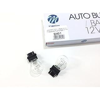 2 x P27/7 Lampe 12 Volt 27/7 Watt W2,5x16q lamp bulb P27/7W