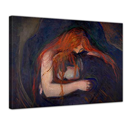 Bilderdepot24 Kunstdruck – Alte Meister – Edvard Munch – Vampire – Vampir
