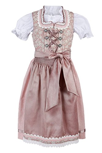 Michaelax-Fashion-Trade Krüger – Kinder Trachten Dirndl, Kinderdirndl in Rosa (Artikelnummer:...