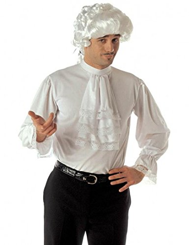 Widmann 4295R Bluse für Erwachsene, weiß, (Ideen Vampir Kostüm Ball)