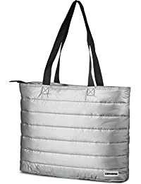 c5ef0790b0f8 Converse Packable Carry All Tote Bag-Metallic Silver