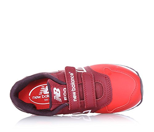 New Balance NBKV500BAP Sneaker, Bambino Red Multi
