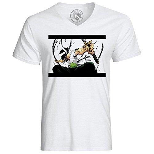 T-Shirt Zoro Roronoa Head Hunter One Piece Manga Anime