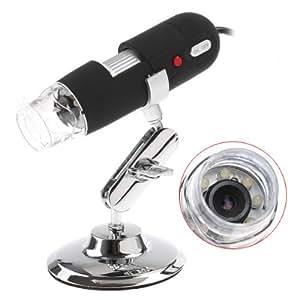 dodocool 2MP 2 méga pixels 800X 8LED USB ??Digital Microscope endoscope caméra loupe