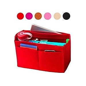 Filz Tote Organizer, Tasche in Tasche, Wolle Geldbörse einfügen, individuelle Tote organisieren, Kosmetik Make-up Windel Handtasche