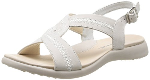 Luxat  Space,  Sandali donna Bianco Blanc (Blanc Cassé) 37