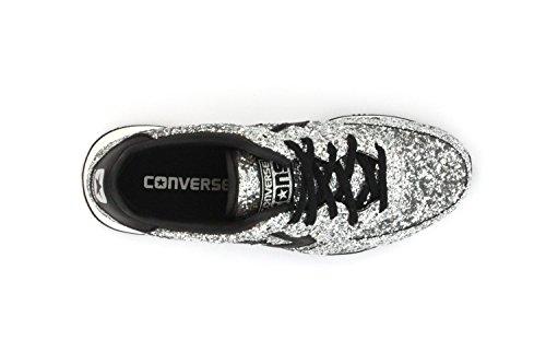 Converse - Converse Auckland Racer Damenschuhe Silber Glitzern Silver Black Snow White