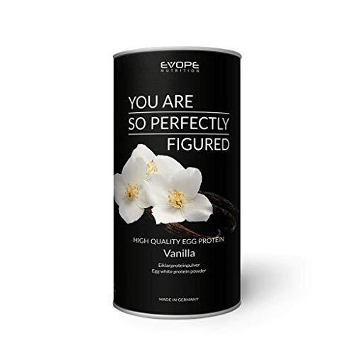 High Quality Egg Protein Pulver Eiweißpulver Laktosefrei Aminosäuren Eiweiß Low Carb Vanille (1 x 750g) (Egg Vanille Protein)
