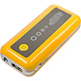Mtec *5600mAh* externer Akku Power Bank für Handy Smartphone z.B. Samsung Galaxy S5 / S4 Mini / S3 / S3 Mini / S2 / Note / Note 2 / Note 3 / Ace / Y / Galaxy Tab / Sony Xperia Z2 / Z1 / Compact / Z / M / HTC One / M8 / One mini / One mini 2 / Desire 310 / Motorola Moto G / Moto X / LG G3 / G2 / G2 Mini / Google Nexus 5 / L90 / Huawei Ascend Y530 / Y300 / G6 / 6 / Apple iPhone 4 / 5 / 5S / 5C / iPad 4 / iPad Air / iPad mini 2 / iPad mini / iPad 3 / Nokia Lumia 1520 / 630 / 520 – Gelb