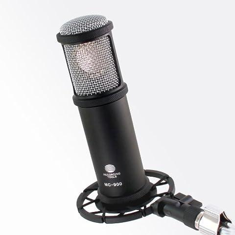 MC-900 HiFi Studio Kondensatormikrofon - Rand-abgeschlossene Großmembran Kapsel Nierecharakteristik