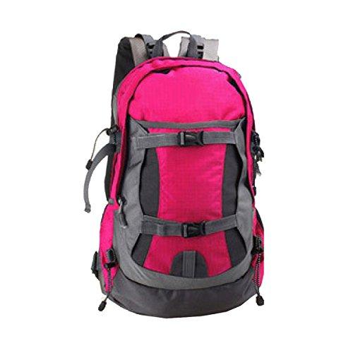 Borsa Nuova Spalla Yy.f50L Ultra-leggero Borse Da Viaggio Borse Alpinismo Impermeabili Esterno Spalle Sport Zaino. Multicolore,Black-32*22*53cm Pink