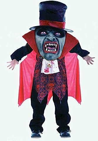 NEU Scary Halloween Mad Hatter Vampire 'Fancy Dress boy 's Jungen Kostüm Halloween Party Karneval Horror (Mad Krankenschwester Halloween Kostüm)