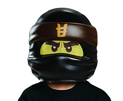 Ninja Kostüm Kampf - LEGO Ninjago Movie, Cole Movie Maske, one size