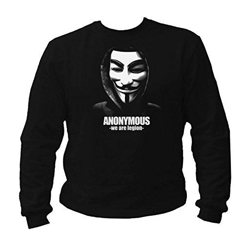 Tex-Ha Anonymous schwarz Sweatshirt (M)