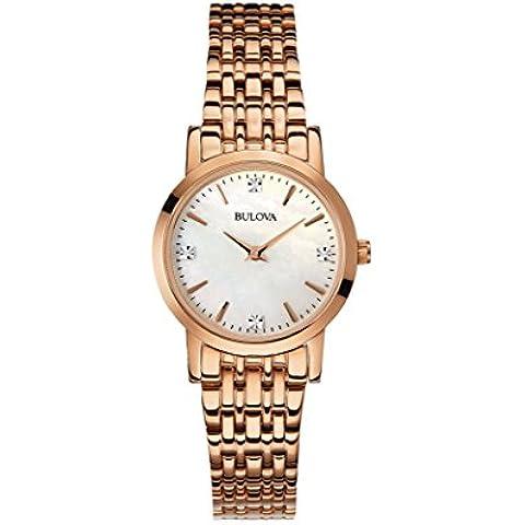 Bulova Diamonds 97P106 - Orologio da Polso Donna