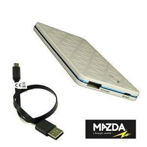 MAZDA - BATTERIE EXTERNE 3000 mAh pour YEZZ Andy A5 par MAZDA BLANCHE