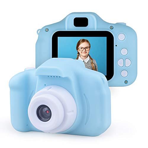Jeudy Mädchen Digitale Videokamera für Kinder im Alter von 3-7 Jahren, Kleinkindkameras Kindergeburtstagsgeschenk für 3-7 jährige Mädchen Jungen Geschenk Alter von 3-7