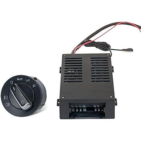 ConPush Nuevo Sensor Interruptor de la Luz de los Faros Contra Niebla de Control para Passat B5 VW Golf 4 Bora