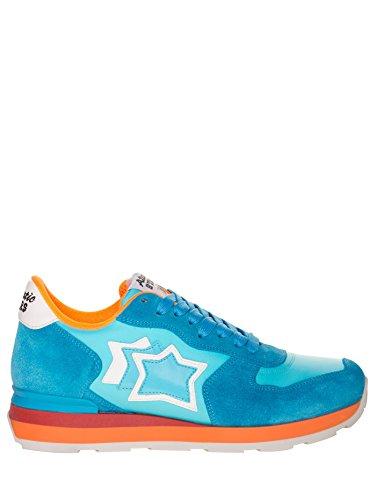 separation shoes 0bd97 925e0 ATLANTIC STARS SNEAKERS VEGA CAMOSCIO STELLE fosforescente azzurro  arancione. 🔍. vedi prezzo ...