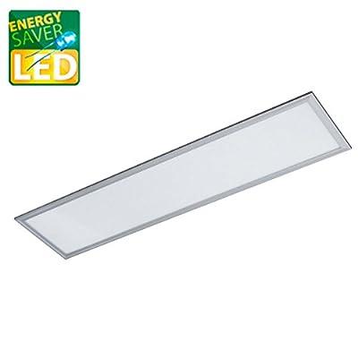LED Panel Pendel, LAURA classic, 1200x300mm, 45W LED Bürolampe als Pendelleuchte, neutralweiß, Büroleuchten, Deckenleuchte von TEUTO LICHT bei Lampenhans.de