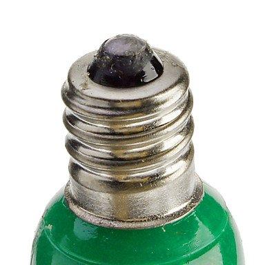 FDH 0.5W E12 Luces de velas LED C35 50 lm verde / rojo / azul / amarillo decorativos,Red 220-240 V CA